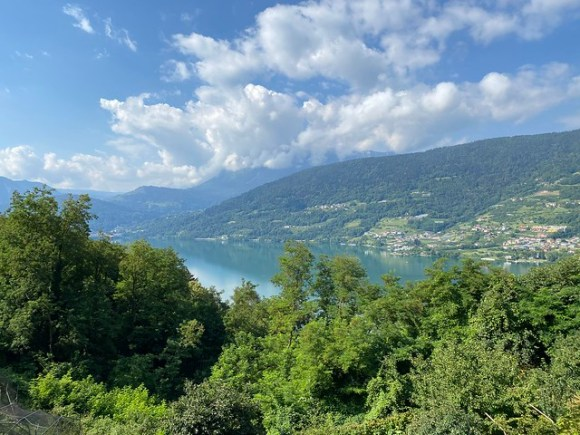 Blick auf den Lago Caldonazzo