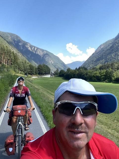 Weiter hinauf in Richtung Brenner