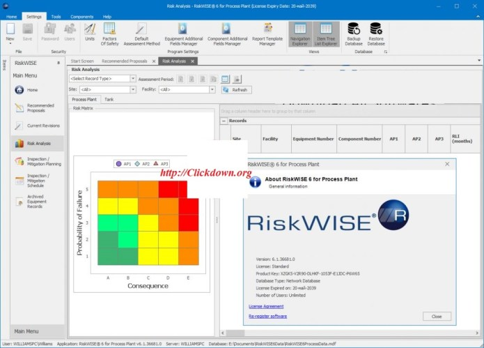 Working with TWI RiskWise for Process Plant 6.1.36681 full