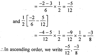 ML Aggarwal Class 9 Solutions for ICSE Maths Chapter 1 Rational Numbers Ex 1.1 Q3.1