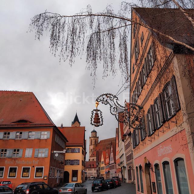 Pueblos Ruta Romántica de Alemania en Navidad - Dinkelsbülh