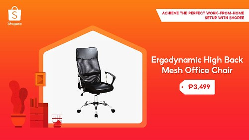 Office Chair Shopee