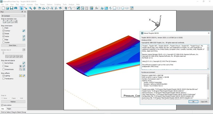 Working with Tecplot 360 EX 2020 R1 Build 2020.1.0.107285 full license