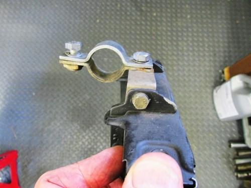 Oil Cooler Bracket Mounting Detail