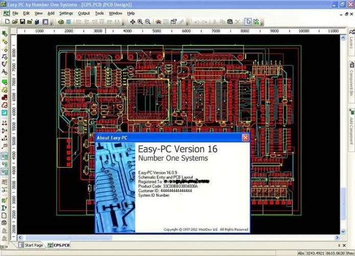 Working with Easy-PC PCB 16.0.9 full license