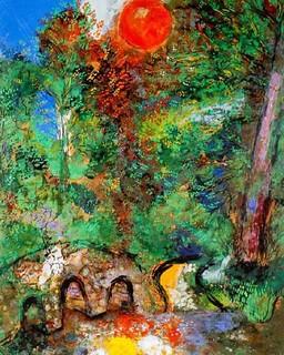 Le Soleil Et Les Grenouilles : soleil, grenouilles, Soleil, Grenouilles, (Chagall), Gravure,, Cm…, Flickr
