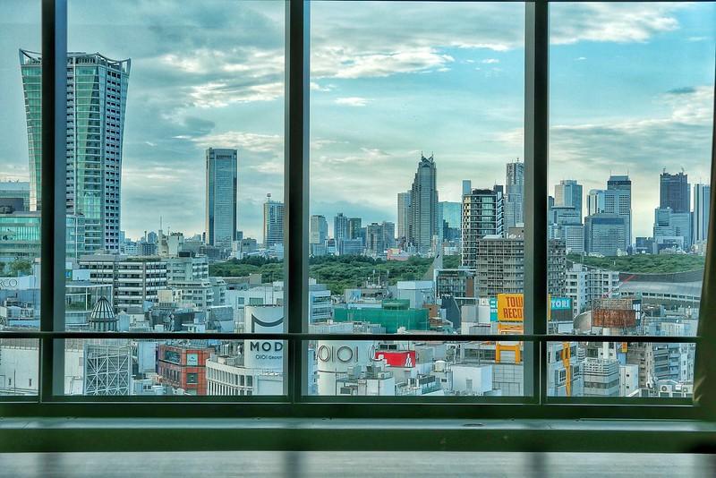 Snapseed Shibuya Sky view original