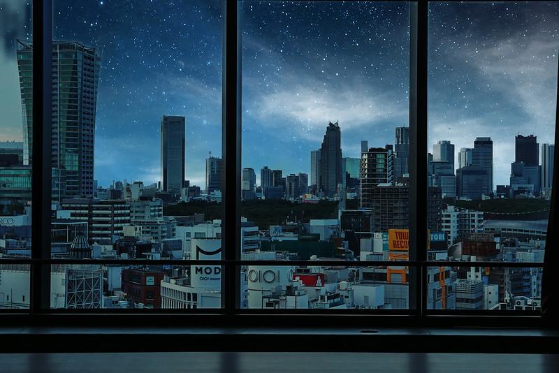 Shibuya photoshop camera night shift lens filter 04