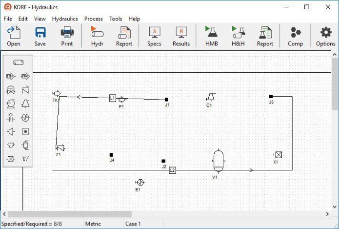 Working with Korf Hydraulics 3.5 full license