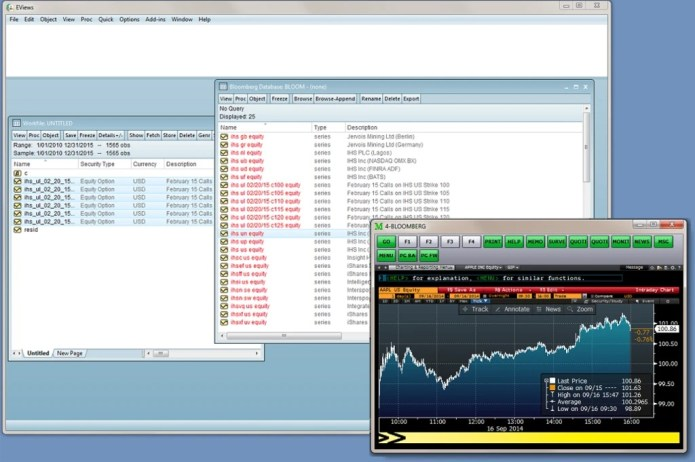 Working with EViews Enterprise Edition 10.0 full license