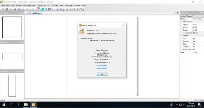 Working with PolyBoard 7.02b pro full license