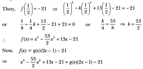 Polynomials Class 10 Extra Questions Maths Chapter 2 with Solutions Answers 24
