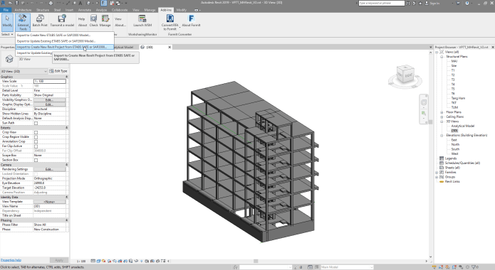 Working with CSiXRevit 2020 full license
