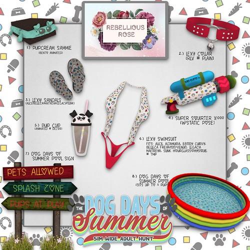 Rebellious Rose - ATCSL's Dog Days of Summer 2020 Hunt Key