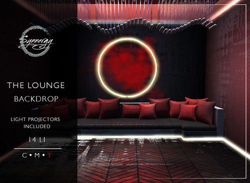 ⚠ NEW GROUP GIFT ⚠ The Lounge Backdrop