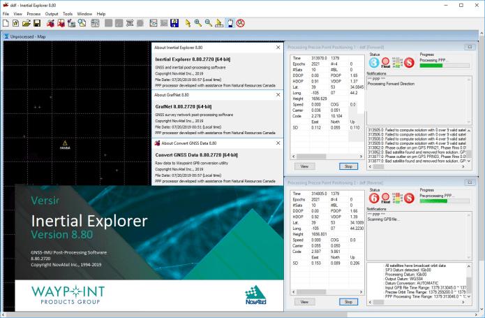 Working with NovAtel Inertial Explorer 8.80.2720 full license