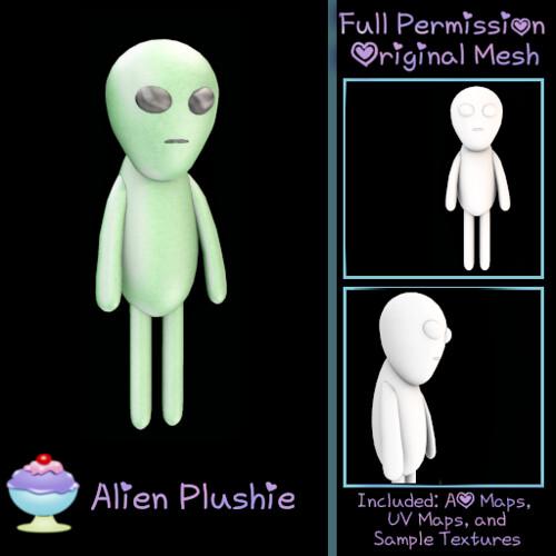 [Sherbert] Alien Plushie - FREE GIFT @ GEEKS UNITE!