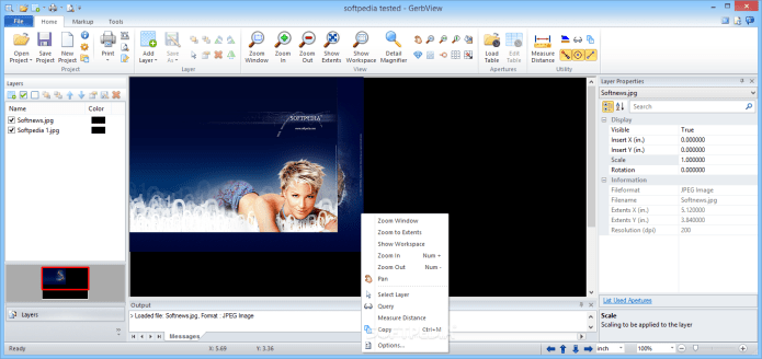 Working with GerbView 8.25 full license