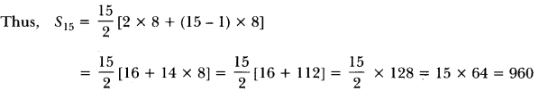 Arithmetic Progressions Class 10 Extra Questions Maths Chapter 5 with Solutions Answers 19