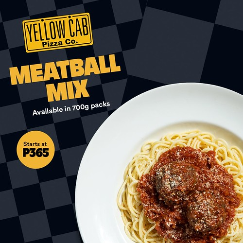 Yellow Cab Meatball Mix