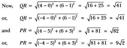 Coordinate Geometry Class 10 Extra Questions Maths Chapter 7 with Solutions Answers 32