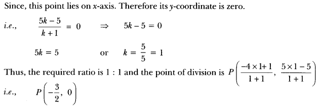 Coordinate Geometry Class 10 Extra Questions Maths Chapter 7 with Solutions Answers 38