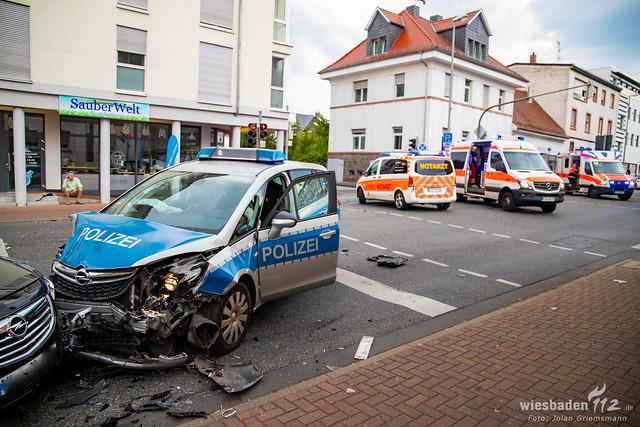 2020-08-12 WI112 VU mit Streifenwagen Kelkheim-11