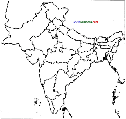 GSEB Solutions Class 9 Social Science Chapter 13 Location, Geological Structure and Physiography-I 1
