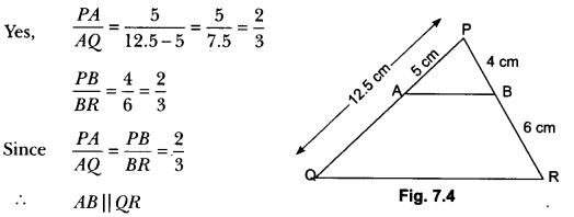 Triangles Class 10 Extra Questions Maths Chapter 6 with Solutions Answers 1