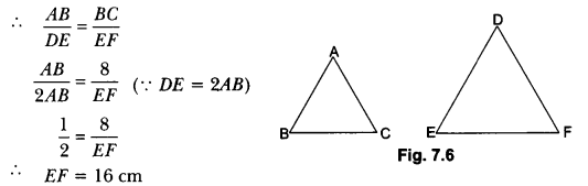 Triangles Class 10 Extra Questions Maths Chapter 6 with Solutions Answers 6