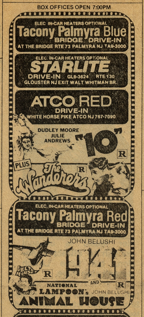 NJ Drive-In circa 1980