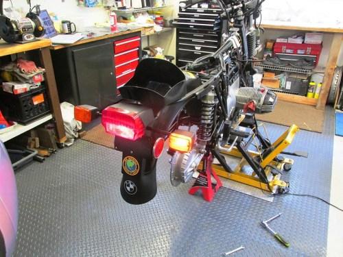 Testing Rear Lights