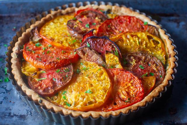 mathilde's tomato tart
