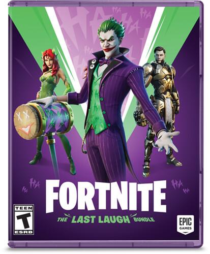 Fortnite The Last Laugh Bundle Packshot