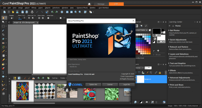 Working with Corel PaintShop Pro 2021 Ultimate 23.0.0.143 full license