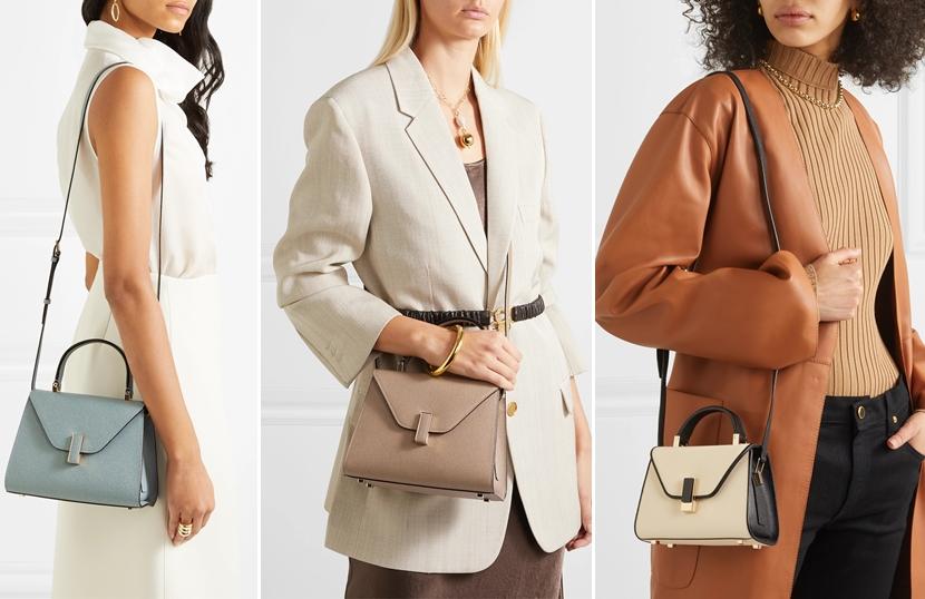 Valextra Iside Bag: 三個尺寸容量比較/實背分享 (Medium / mini /micro)