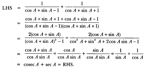 Introduction to Trigonometry Class 10 Extra Questions Maths Chapter 8 with Solutions Answers 38