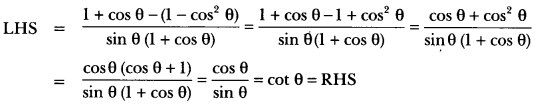 Introduction to Trigonometry Class 10 Extra Questions Maths Chapter 8 with Solutions Answers 36