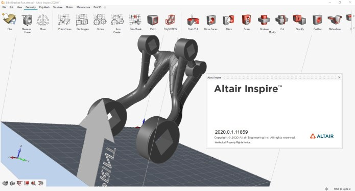 Working with Altair Inspire 2020.0.1 Build 11859 full license
