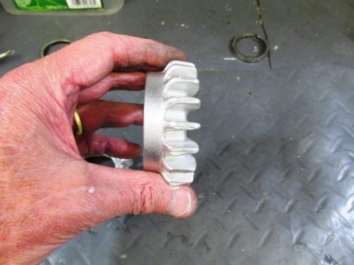 Cleaned & Polished Header Nut