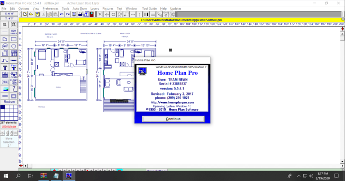 Working with Home Plan Pro v5.5.4.1 full license