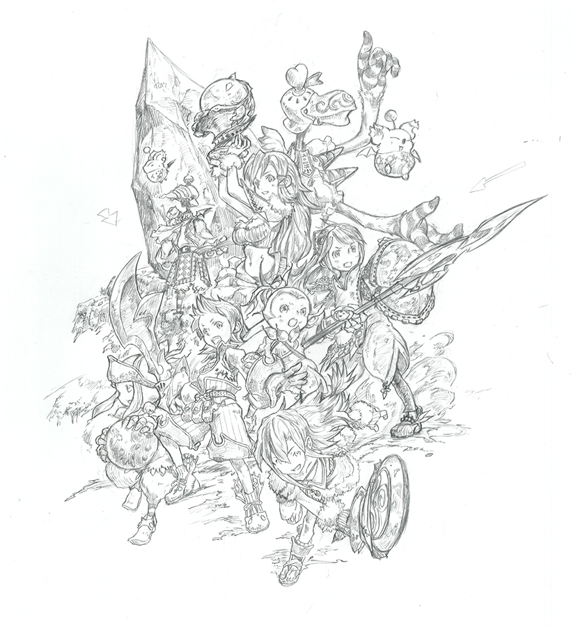Take a guided tour of Final Fantasy Crystal Chronicles