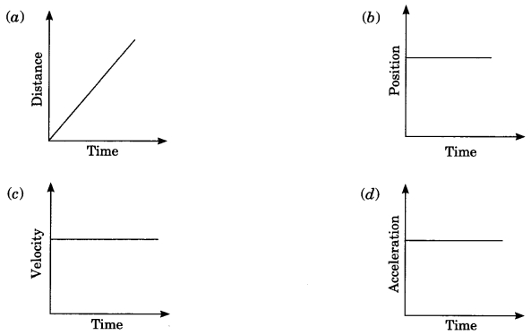 MCQ Questions for Class 9 Science Chapter 8 Motion with