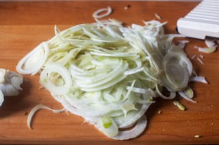 shaved fennel