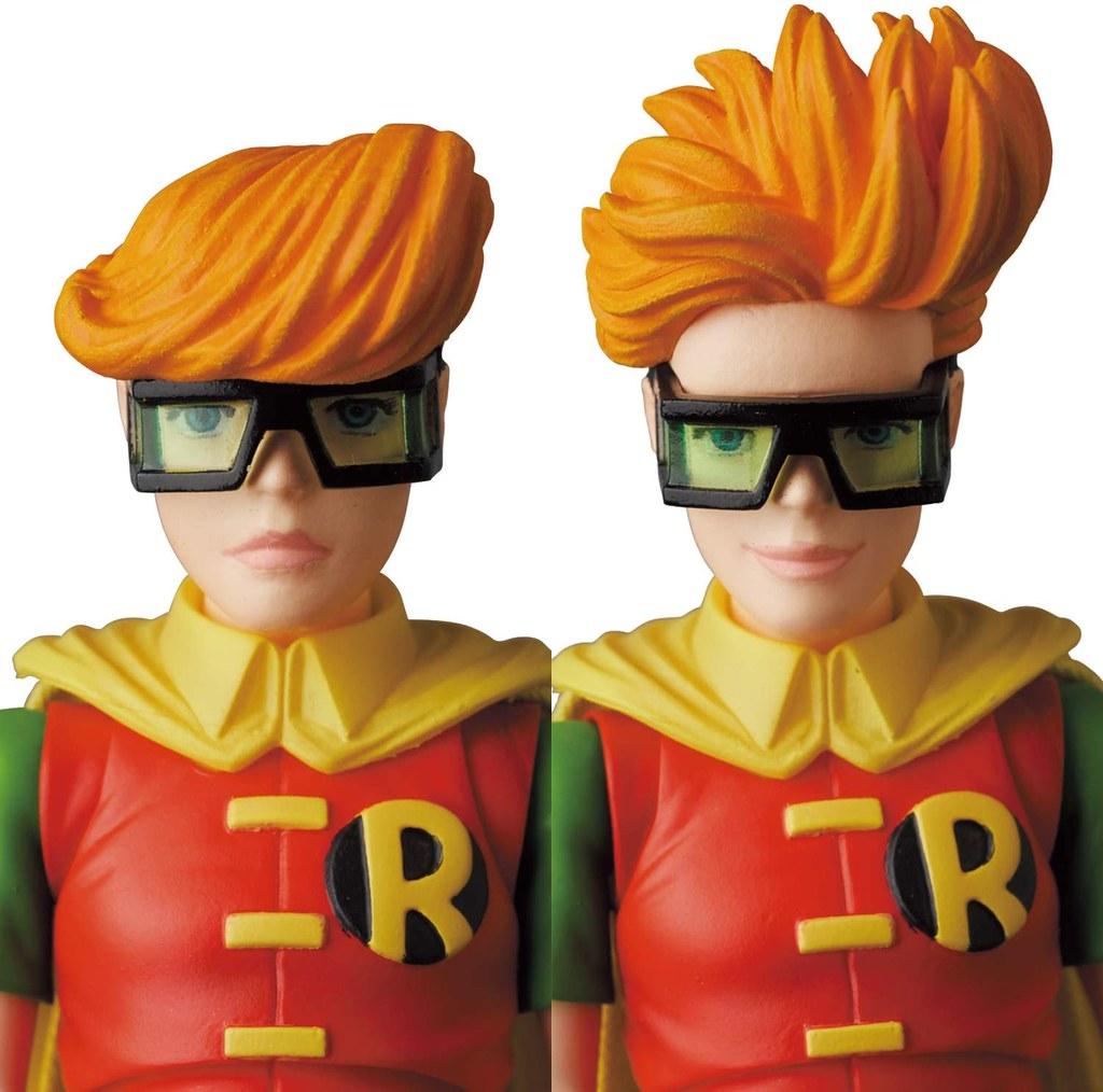 MAFEX《蝙蝠俠:黑暗騎士歸來》蝙蝠俠(藍色版)&羅賓 可動人偶   玩具人Toy People News