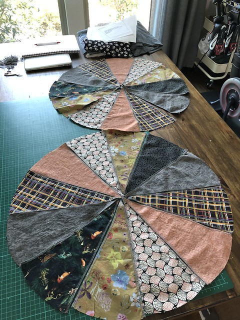 Closet Core Patterns Pouf