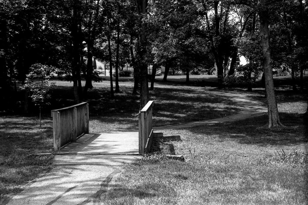 Path, underexposed