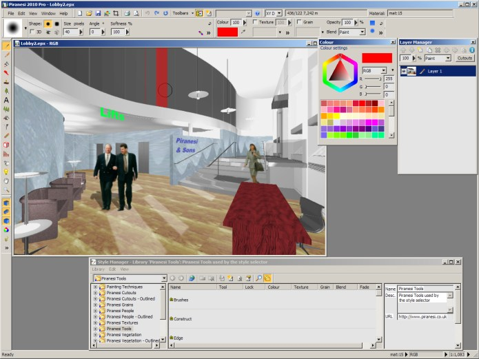 Working with Piranesi 2010 Pro v6.0.0.3672 full