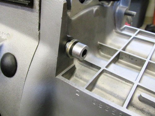 Transmission Top Left Mounting Bolt Hardware Detail