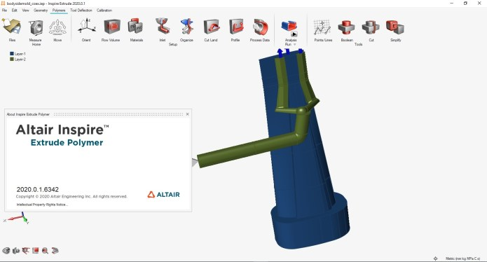 Working with Altair Inspire Extrude Polymer 2020.0.1 Build 6342 full